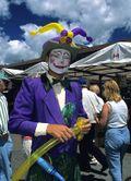 Mall-clown