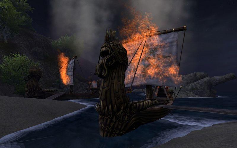 Burn-boats