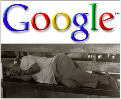 Google-Sleeping-Man