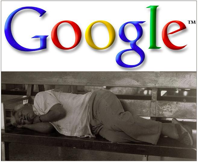 Google-Sleeping-Man