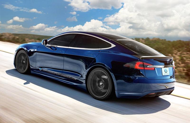 Blue-Tesla